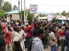 Ethiopia's Muslim community has been taking part in major demonstrations over the last two years against the country's ruling regime for alleged interference in its religious affairs. Credit: Ed McKenna/IPS