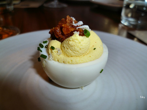 Deviled egg by M'roy