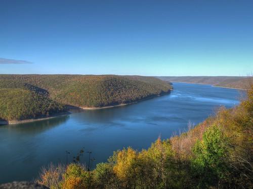 pennsylvania fallcolors hdr photomatix alleghenynationalforest alleghenyreservoir jakesrock