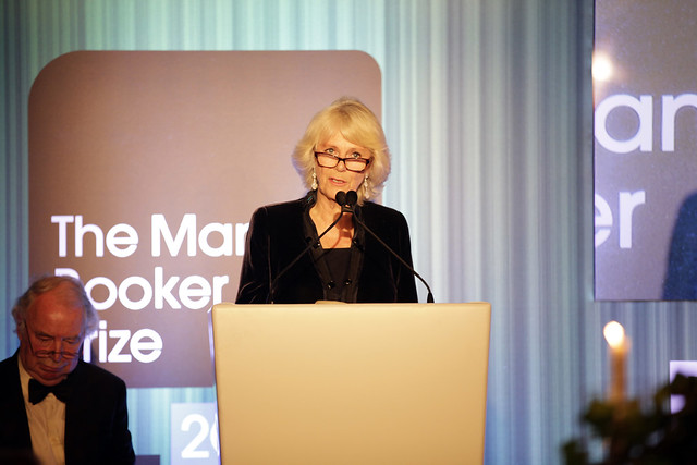 HRH The Duchess of Conrwall gives a speech at the Man Booker Prize dinner - c Janie Airey
