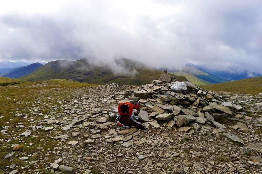 Summit of Beinn an Dothaidh