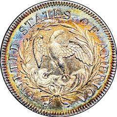 1796 B-2 Quarter Dollar reverse
