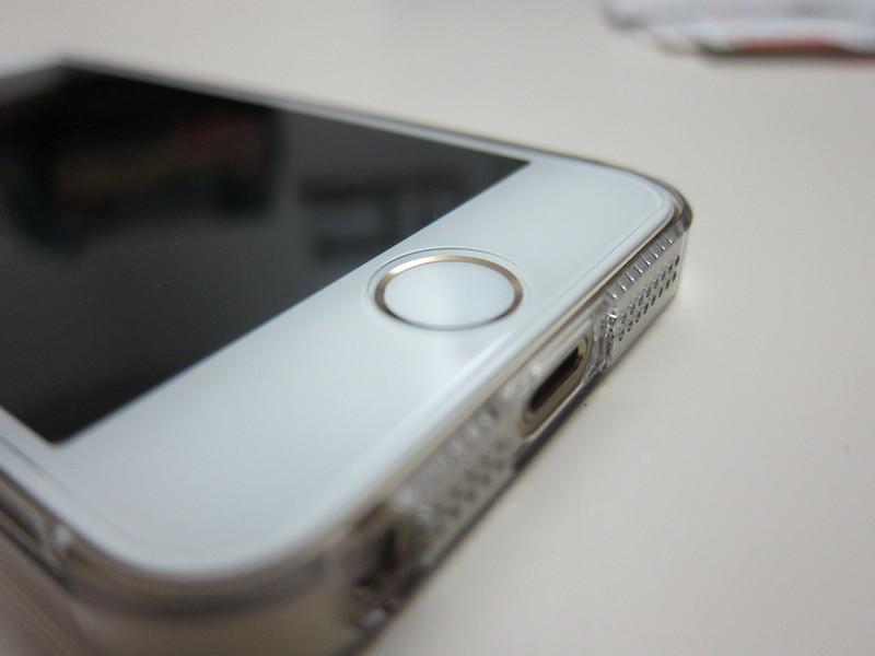 Spigen SGP GLAS.tR Nano Slim Screen Protector - Home Button
