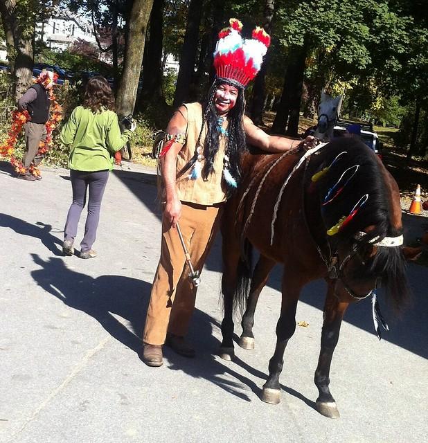 Northwestern Stables Haunted Horses Costume Parade 2013