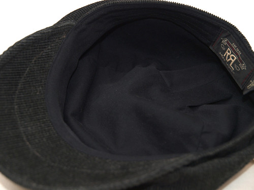 RRL / Faded Corduroy Newsboy Cap