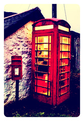 Porthgwarra telephone box,Cornwall #classicdesign#cornwall#camera+ by davidearlgray