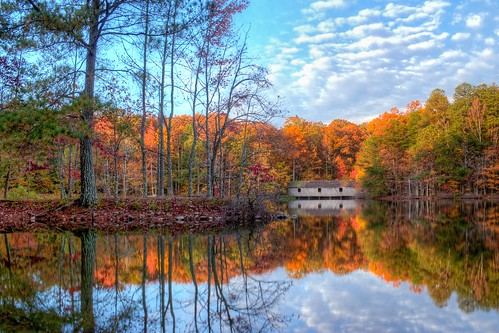 bridge mountain green fall huntsville alabama madison hdr 2012