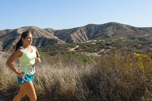 Running the top of the Old West Trail at Vail Lake Resort in Temecula, by Crispin Courtenay via Flickr
