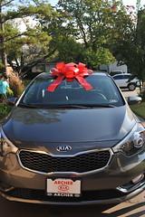 automobile(1.0), automotive exterior(1.0), vehicle(1.0), automotive design(1.0), kia cerato(1.0), bumper(1.0), land vehicle(1.0), vehicle registration plate(1.0), kia motors(1.0),