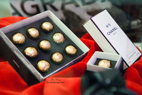 Exclusive (and expensive) Chanel No 5 infused bonbons
