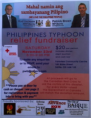 Typhoon Haiyan Relief Fundraiser Nov 2013