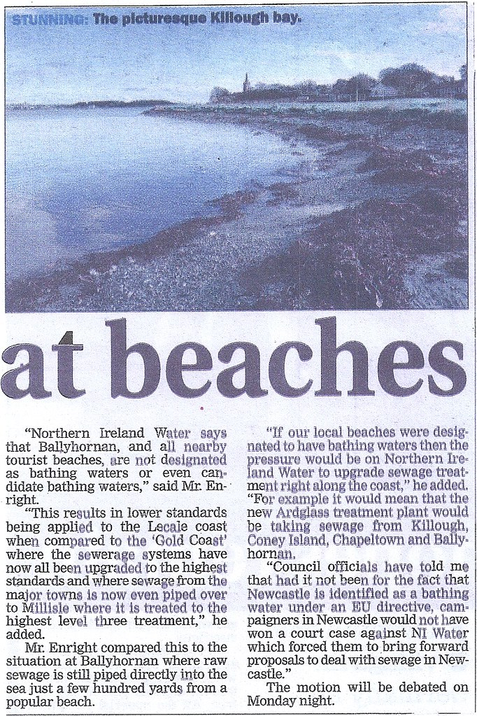 Help Improve Water Quality on Lecale beaches 2