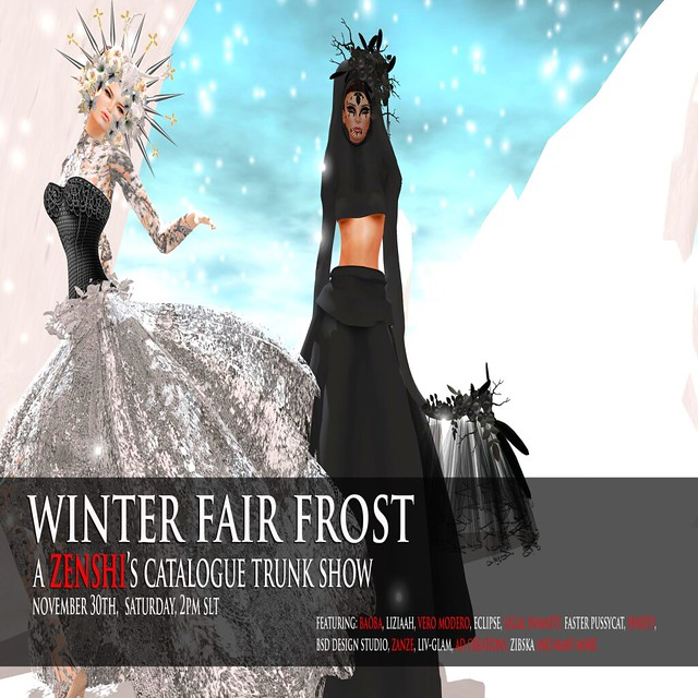 AVENUE -zenshi WINTER FAIR FROST OFFICIAL AD