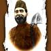 Allama Mashriqi with Spade (Color+Frame)