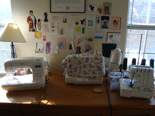 My sewing room 12/1/13