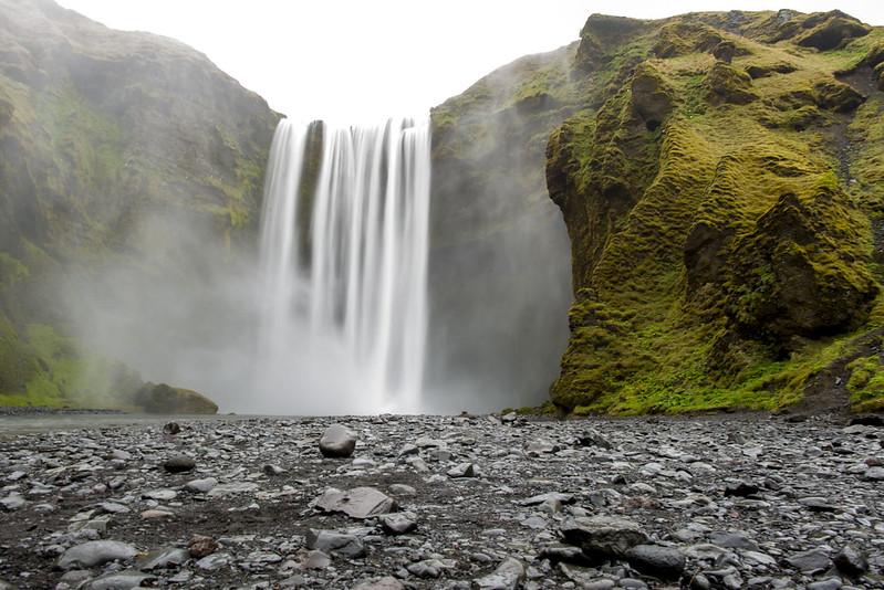 Skógafoss Iceland waterfall