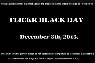 flickr black day ...