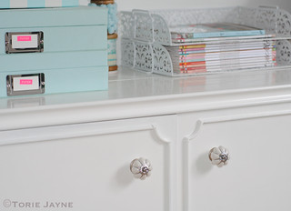 Bombay Duck knobs on my dresser