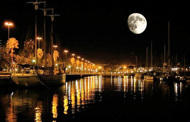 barcelona i la lluna !!!
