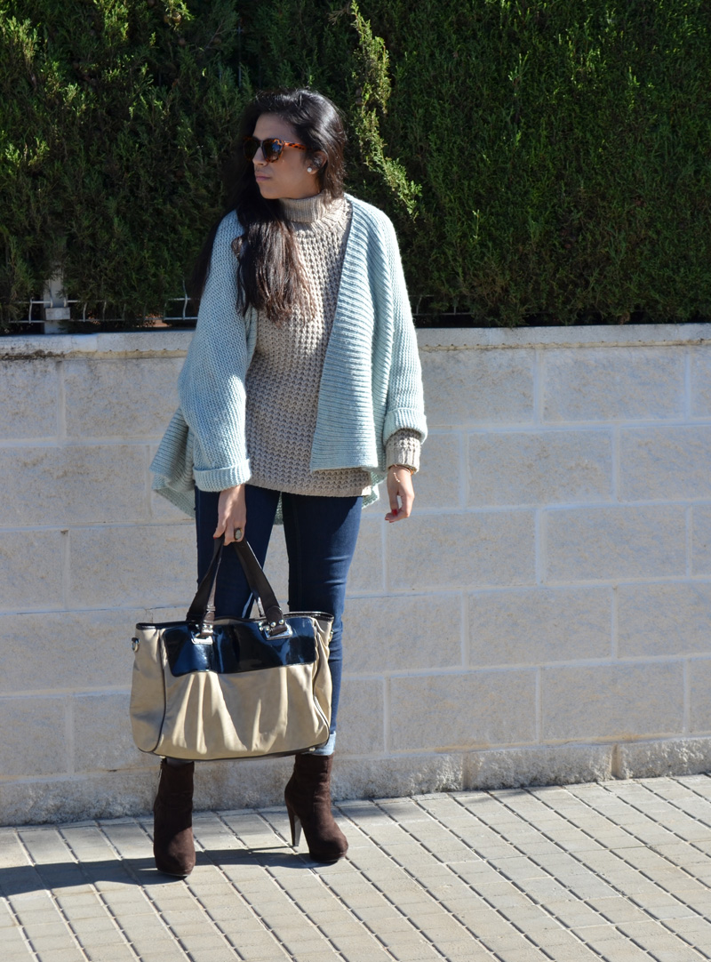 spanish blogger chaqueta mint