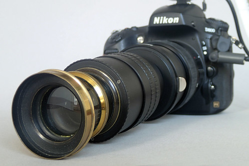 French Aplanat f8 (unmarked) on Nikon D800 nº 2