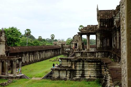 Grounds at Angkor Wat