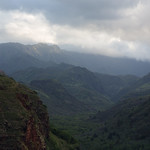 Beginning of Waimea Canyon