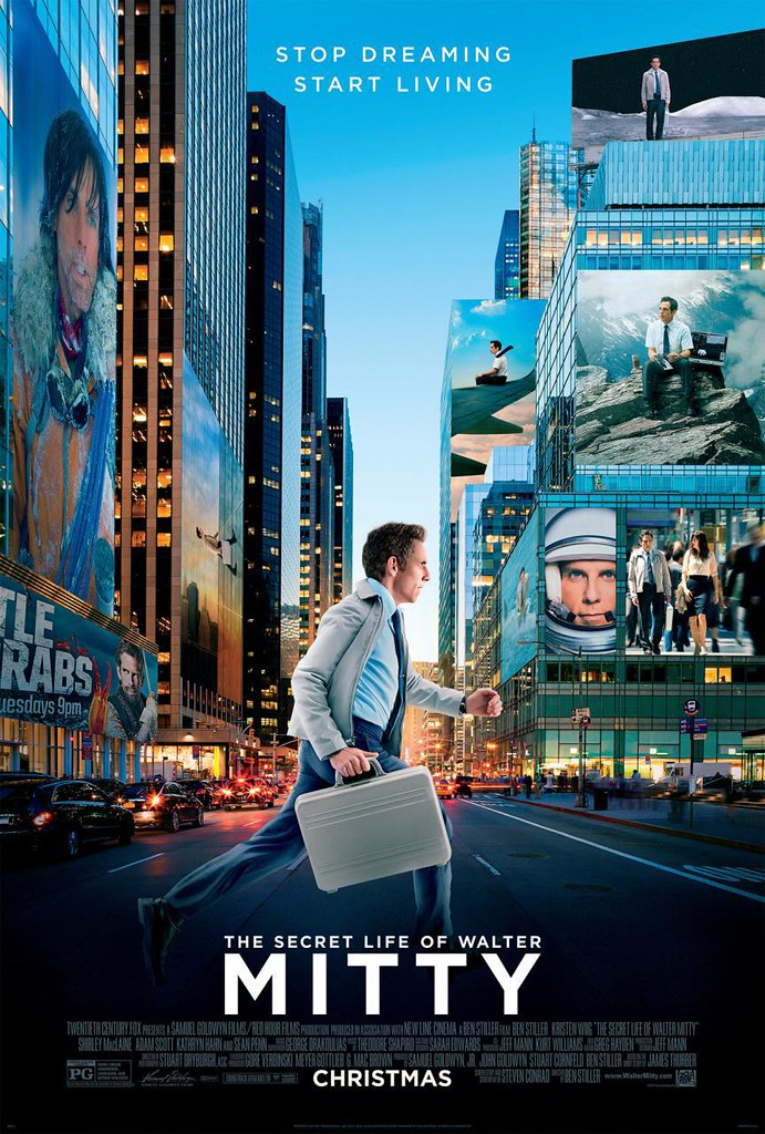 THE SECRET LIFE OF WALTER MITTY–白日夢冒險王
