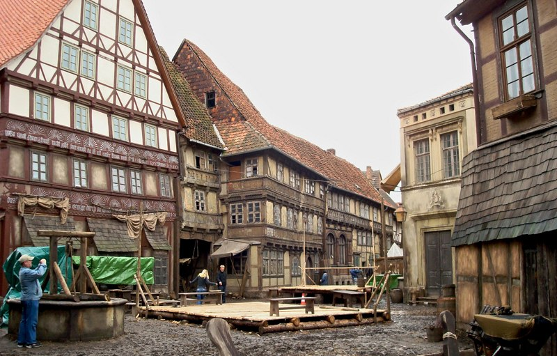 Goslar city spared during the war