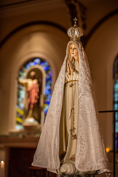 Our Lady of Fatima - Pilgrim Statue