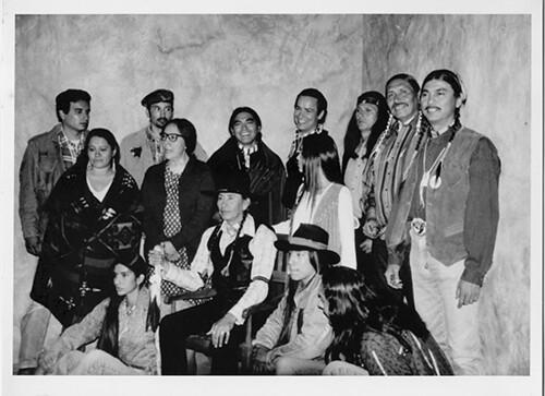 Lakota Woman cast with Carter Camp