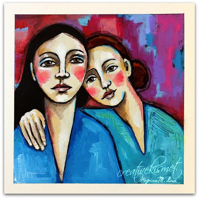 unspoken, art by Regina Lord