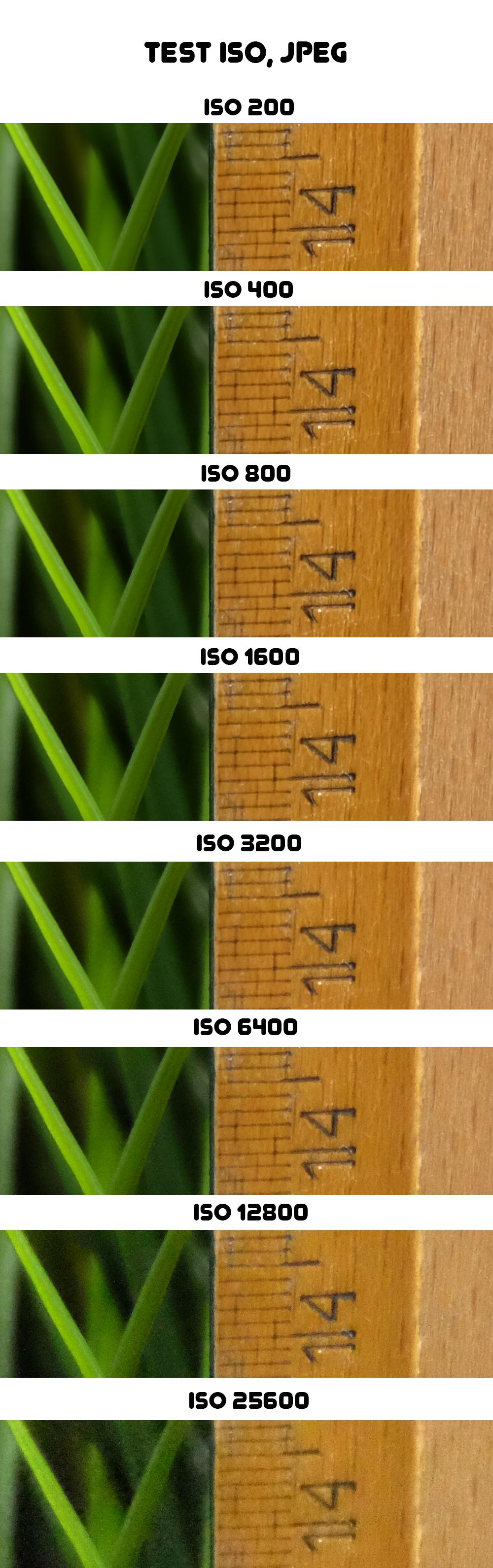 Fujifilm X-M1 - ISO, JPEG