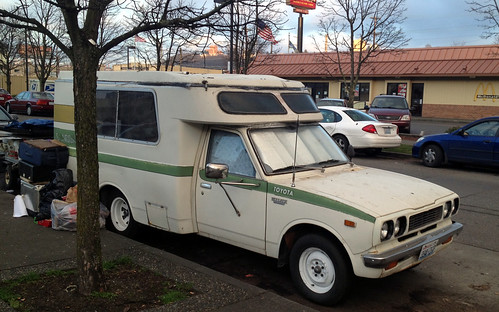 1974 Toyota Hi-Lux With Chinook Camper Conversion;  Also Someone's Home in Seattle, 2014