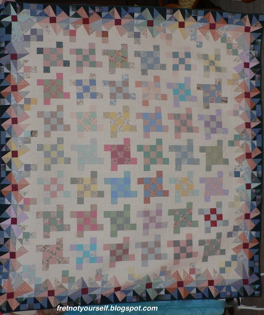 Flying Squares Quilt