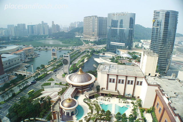 cotai strip top view