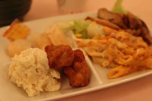 館のレストラン6