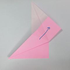 สอนการพับกระดาษเป็นลูกสุนัขชเนาเซอร์ (Origami Schnauzer Puppy) 022