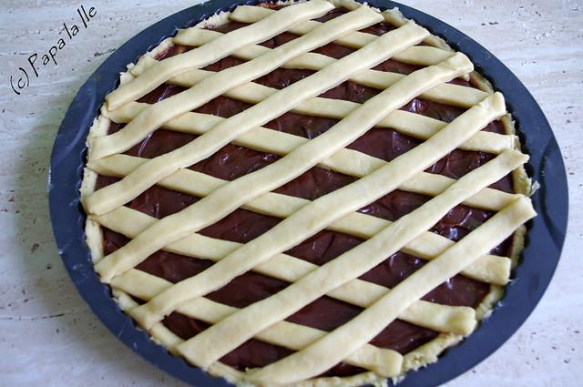 Tarta cu ciocolata si nectarine (9)