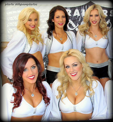 2013 Oakland Raiderettes at Raiderville