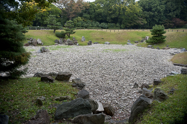 Nagoya Castle Garden 03 名古屋城 二之丸東庭園の枯池