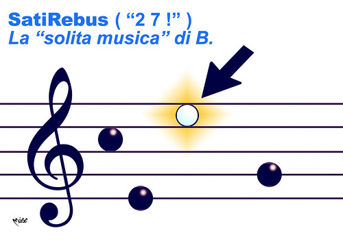 SatiRebus - MusicaB by Moise-Creativo Galattico