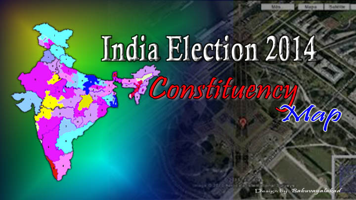 India Parliamentary Lok Sabha General Elections 2014 Consuency Maps