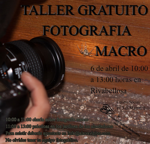 Taller Macro Rivabellosa 2014