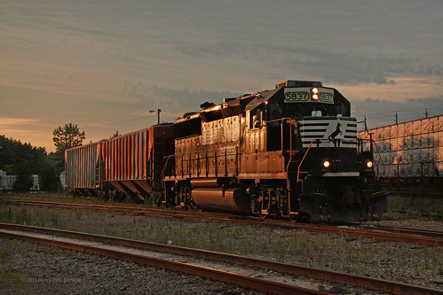 railroad spur railway norfolksouthern jacksonvillefl gp382 simpsonyard industrialswitching ns5837