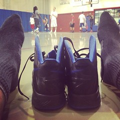 Haven't balled in a while but played 3 or 4 full court games..after all the burpees, mile runs, weights and jump rope every morning ballin felt kinda  good lol. Still won a couple though. Me and Berto was puttin in work! #ballin #bball #getbuckets #gowild