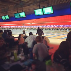 Rollin with my homies #leaguenight #amf #bowling
