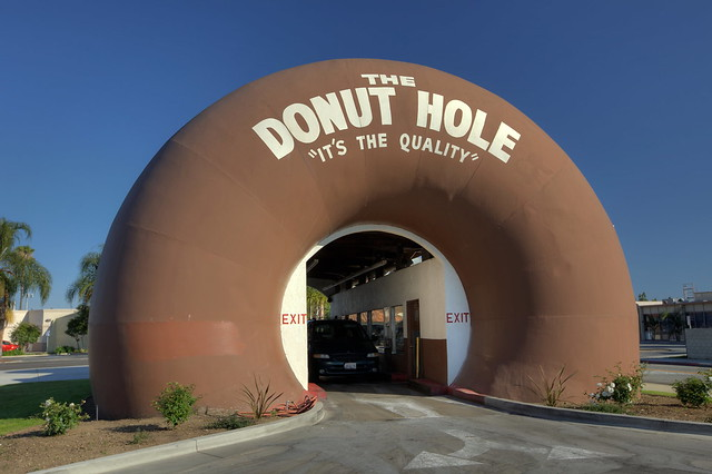 The Donut Hole - La Punete, California U.S.A.