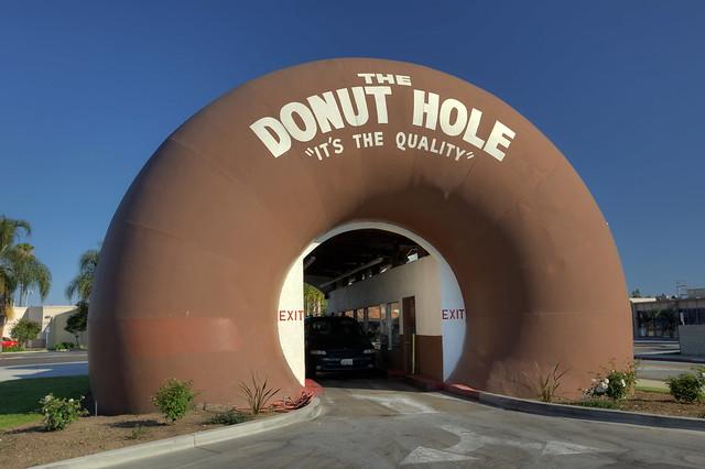 The Donut Hole - La Punete, California U.S.A.