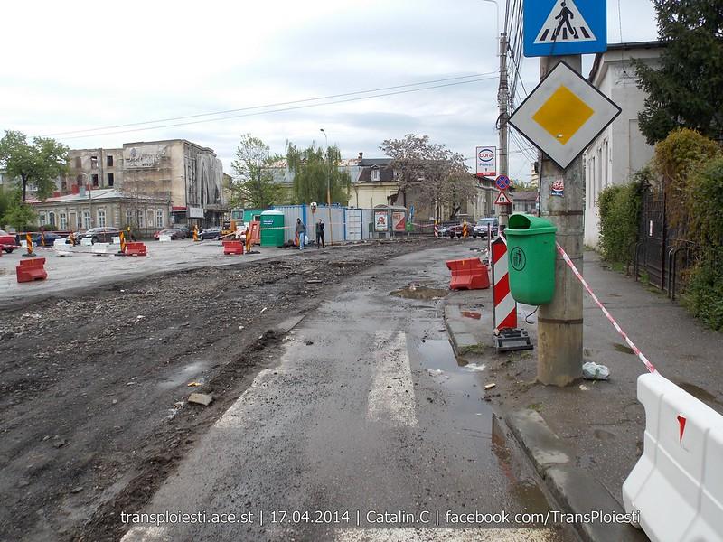 Traseul 101, etapa II: Intersecție Candiano Popescu ( zona BCR ) - Gara de Sud 13915730275_4c14285437_c